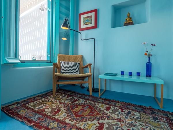 AEGEAN BLUE The Tinos Blue House Tinos Villa Vacation Rental Aegean Blue